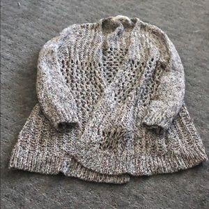 Zara knit like new medium knit sweater cardigan